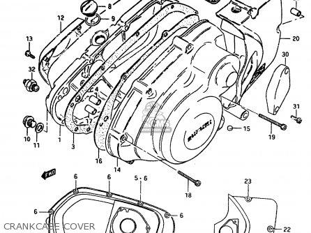 (11483-15503-H17) GASKET,MAGNETO COVER
