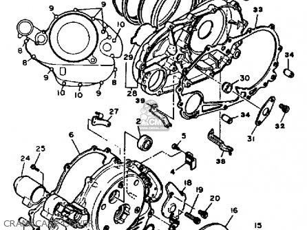 Yamaha Virago 250 Parts