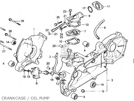 crankcase oil pump_mediumhu0301k89e_be6a honda nq50 '86 nq50 spree 1986 parts in stock 1985 honda spree wiring diagram at gsmx.co