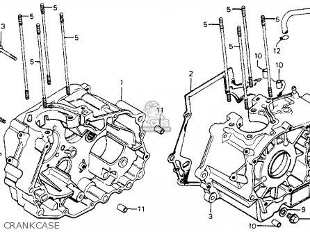 Honda Cm200t 81 200 Twinstar 1981 Parts