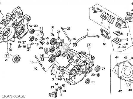 1997 Cr125 Engine Diagram