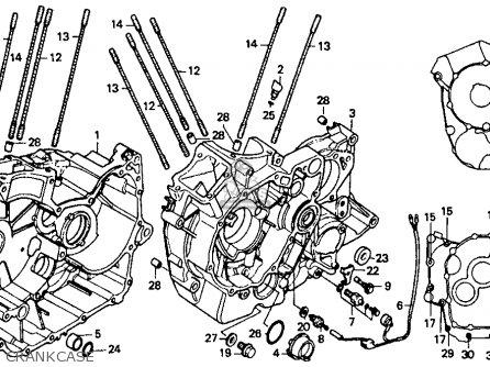 Honda Vt1100c 87 Vt1100c Shadow 1100 1987 Parts