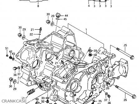 Suzuki 1986 Vs700glg Vs700 Gl Intruder Cruiser Motorcycle Parts