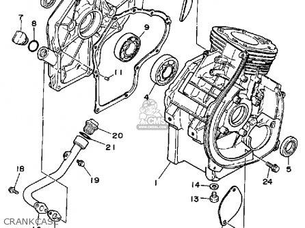 97 Yamaha Golf Cart Engine G2 G8 G9 G11 Gas Motor J38 Lsv Carts