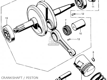 (13020036015) RING SET, PISTON