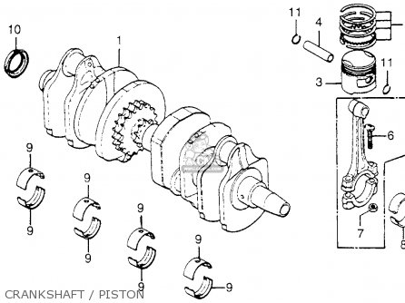 BRG B,CRANKSHAFT