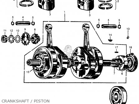 CRANKSHAFT ASSY