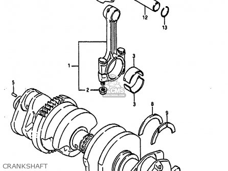 (1216040C03) CONNECTING ROD ASSEMBLY
