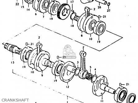 Shaft, Timing Chain Drive photo