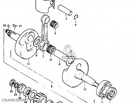 Suzuki 1974 Ts125l Ts125 Duster Dual Sport Motorcycle Parts