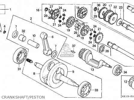bearig ball 6322 fits mtx200rw 1985 f france yb order at cmsnl rh cmsnl com Honda 125 Enduro Honda NX 125