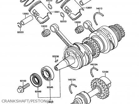 piston engine fits kr250b2 kr1 1989 europe uk fr gr it order at cmsnl rh cmsnl com kawasaki kr 150 engine manual kawasaki kr 150 owners manual