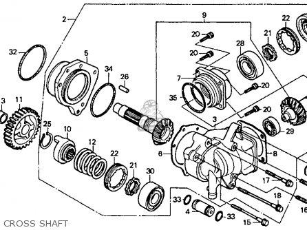 Honda Vt1100c 88 Vt1100c Shadow 1100 1988 Parts