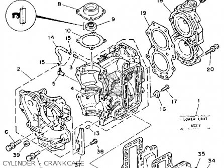 (66415369A0) GASKET, OIL SEAL HOUSING
