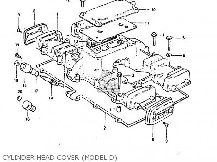 Gasket, Cylinder Head Cover photo
