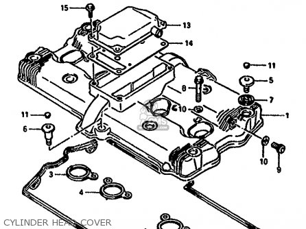 Suzuki 1991 Gsx1100fm Gsx1100f Katana 1100 Sport Motorcycle Parts