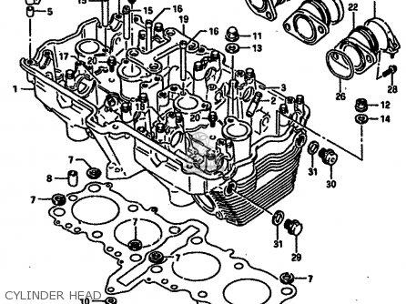 Suzuki 1998 Gsx750fw Gsx750f Katana 750 Sport Motorcycle Parts