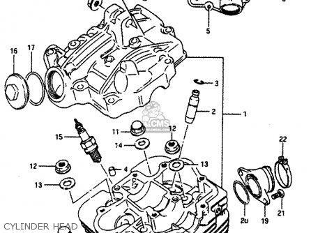 Head Assemblycylinder For Lt230e 1987 H