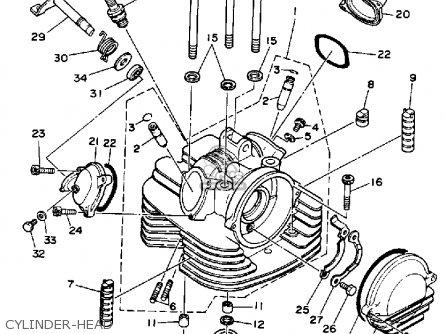 Yamaha Atv Yfm40fp Yfm40f Big Bear 400 5 Speed Motorcycle Parts