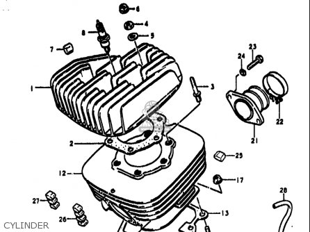 Suzuki 1981 Ts185x Ts185 Sierra Dual Sport Motorcycle Parts
