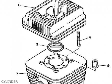 (7YK1135101) GASKET, CYLINDER