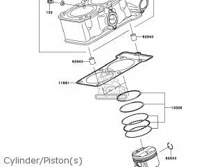 (13001-0135) PISTON-ENGINE