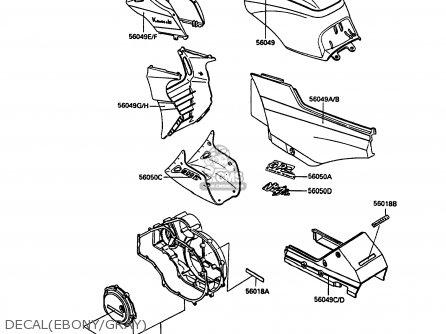 560491438 Patternfuel Tank Kawasaki