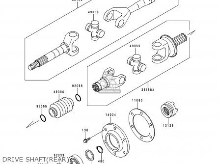 Shaft-assy-drive, Outs photo