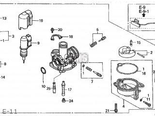 (16100-KFH-715) CARBURETOR Assembly  (VE