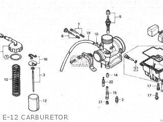 (16100KK4662) CARBURETOR assembly