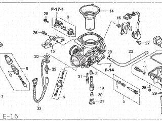 CARBURETOR assembly (JDM)