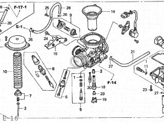 (16100-KFB-652) CARBURETOR assembly