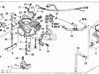 CARBURETOR assembly (JDM)
