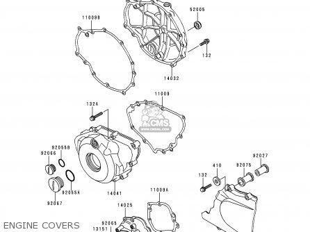Kawasaki 1993 En500 A4 Vulcan 500 Cruiser Motorcycle Parts