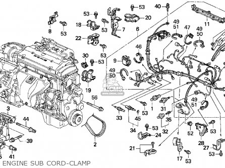 holder comp acg har fits prelude 1996 t 2dr si ka kl order rh cmsnl com 1992 Honda Prelude Parts 91 Honda Accord Engine Diagram