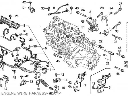 Remarkable Honda Accord Engine Wiring Harness Diagram Ideas - Best ...