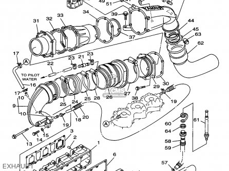 (65u1461301) Gasket, Exhaust Pipe photo