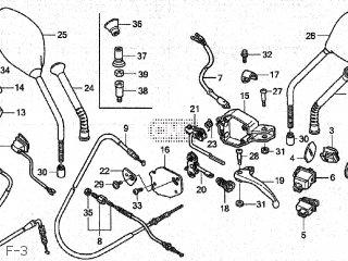 (43440-GCC-B50) CABLE COMP,FR BRK