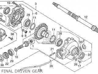 AXLE COMP,REAR