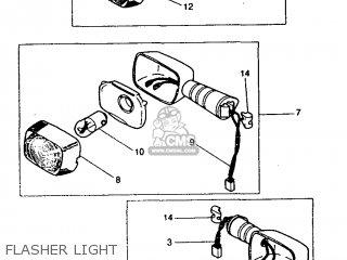 (5BKH331001) FRONT FLASHER LIGHT ASSY