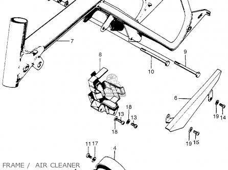 body frame for z50a mini trail k1 1969 1970 usa order at cmsnl 2005 Honda Element Radio Antenna body frame photo
