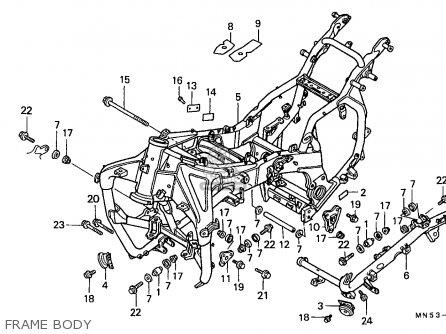 31115mn5621 Label A C Generator Caution French Honda