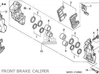(45250-MCF-016) CALIPER SUB ASSY,