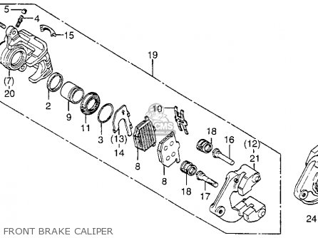 Caliper Assy, L.fr photo