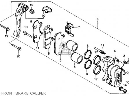 (06455MS8405) SET BRAKE PAD