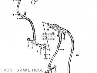 Hose, Front Brake photo