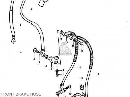 Hose, Brake No.1 (l:390) photo
