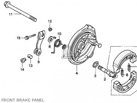 ARM,FRONT BRAKE