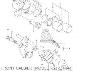Caliper Assy, Fr, R photo