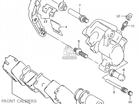 Caliper Assembly, Front, Right photo
